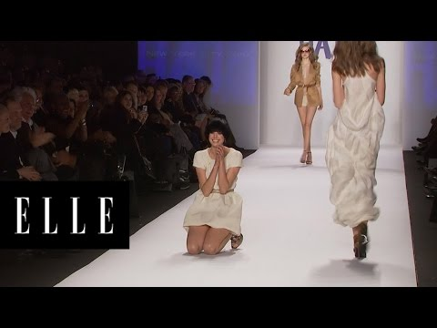 Watch How Gracefully These Models Fall | ELLE