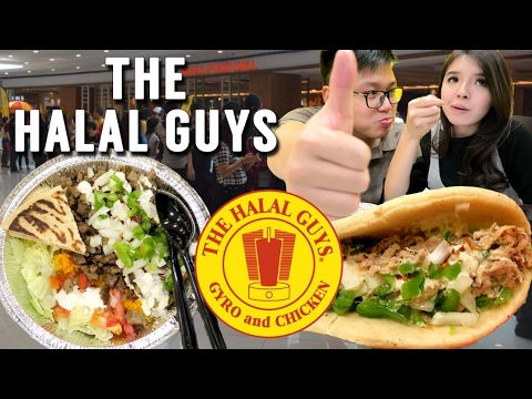 THE HALAL GUYS  Indonesia review !!!!