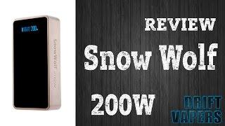 Snow Wolf 200W ┇ ОБЗОР ┇ Парим и  Качаем руки