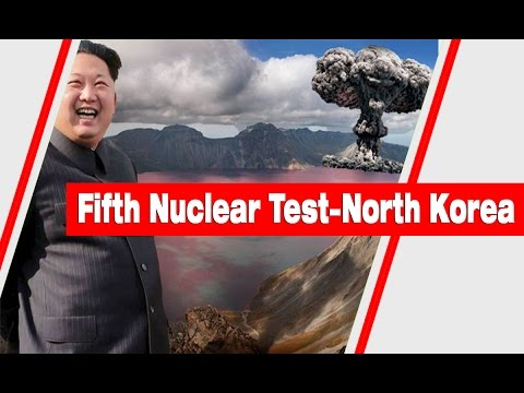 North Korea confirmed it has conducted its fifth test of a Nuclear