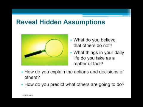 Mental Models: The Key to Making Reality-Based Decisions | HRDQ-U Webinar