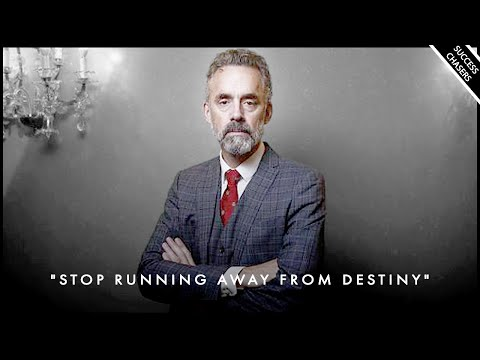 """""""DON'T RUN FROM YOUR DESTINY & CALLING IN LIFE"""" - Jordan Peterson Motivation"""