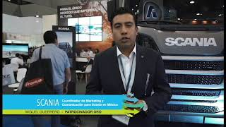 Logistic Summit & Expo - Testimonial expositor SCANIA – Miguel Guerrero