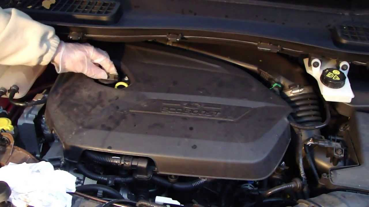 How To Check Motor Oil Ford Escape Years 2017 2019