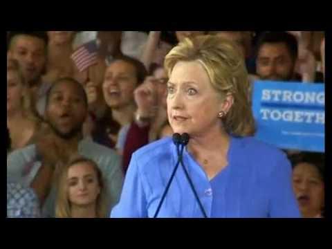 Full Hillary Clinton Speech in Cincinnati Ohio