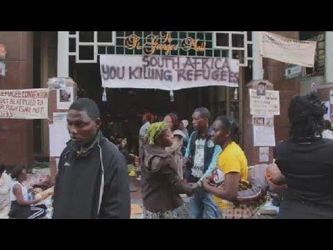 Afrique du Sud : les réfugiés reclament une rélocalisation après des violences xénophobes