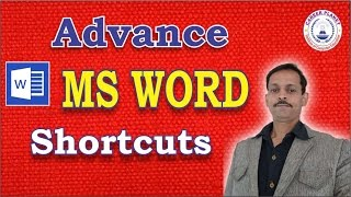 MS Word Shortcuts Keys Advance-Part-2|Microsoft Office Word Tutorial in Hindi