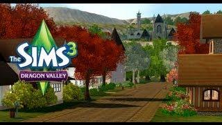 The Sims 3 Dragon Valley (Vale do Dragão) - Roupas, Moveis e Dragão.