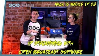 RSTP and NDI streaming with OBS
