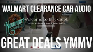 Walmart Deal Alert | Car Audio Electronics Clearance | YMMV