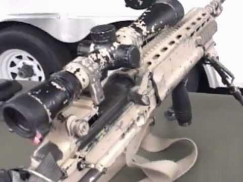 USN SEAL's Enhanced Battle Rifle (EBR)