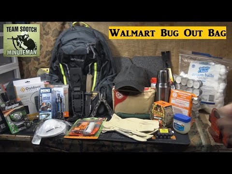 DIY Walmart Premium Bug Out Bag
