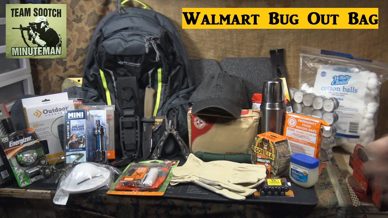 Diy Premium Bug Out Bag