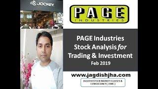 Page Industries analysis after massive fall in this stock | Feb 2019