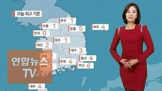 [날씨] 올 겨울 최강 한파…화요일 예년기온 회복 / 연합뉴스TV (Yonhapnews TV)
