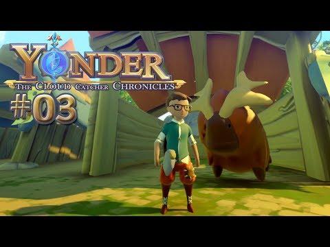 YONDER #03 • Mein Freund Gruffle ♥♥♥ Yonder the Cloud Catcher Chronicles Gameplay German • Deutsch
