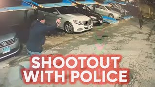 Video shows shootout that injured NYPD officer, killed suspect