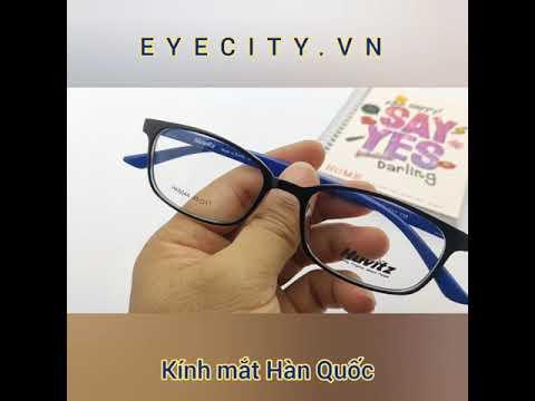 Gọng kính cận Hàn Quốc Huvitz thời trang siêu dẻo tròng đen trắng HK6044 | Khái quát các nội dung nói về kính cận thời trang chi tiết