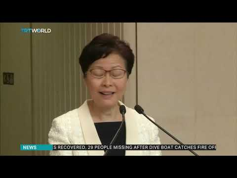 'I and my team should stay on to help Hong Kong' – Carrie Lam