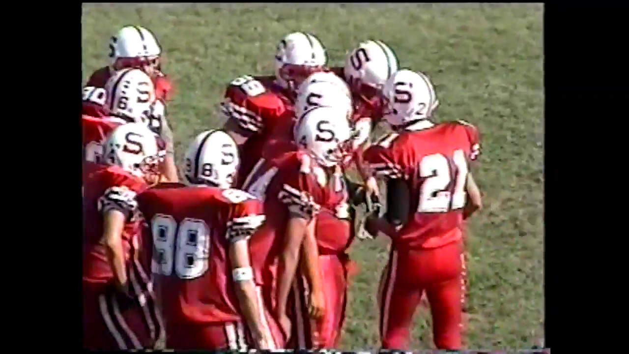 NCC - Saranac - Tupper Lake Football  10-9-99