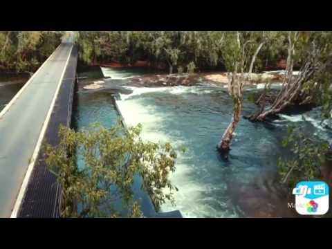 Drone around Katherine, Northern Territory