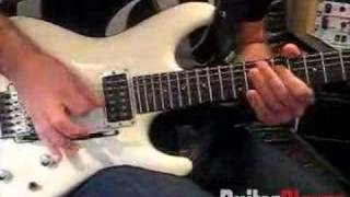 "Joe Satriani Demonstrates His ""Musterion"" Theme"