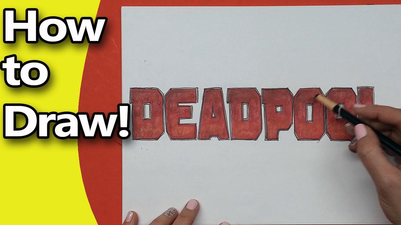 Deadpool name logo — img 1
