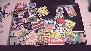Sticker Bomb My Laptop (Стикербомбинг ноутбука)