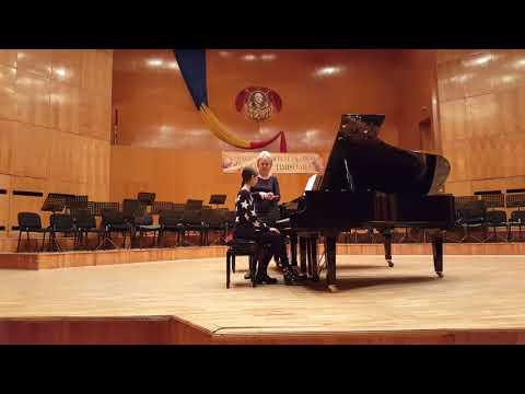 "Vera Chistyakova- piano masterclasse at National College of Art ""Ion Vidu"" Timisoara, Romania"