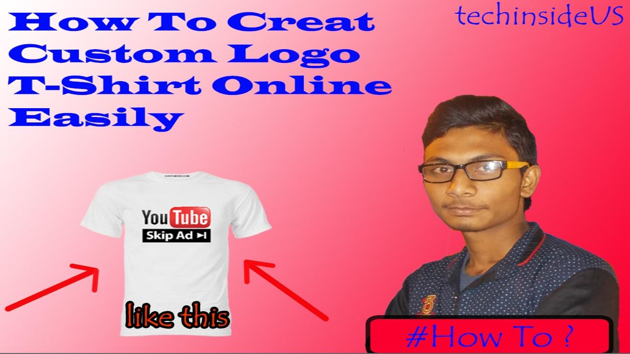 d2fcdbd5 How To Order Custom Logo T-Shirt Online | VistaPrint.in - YouTube