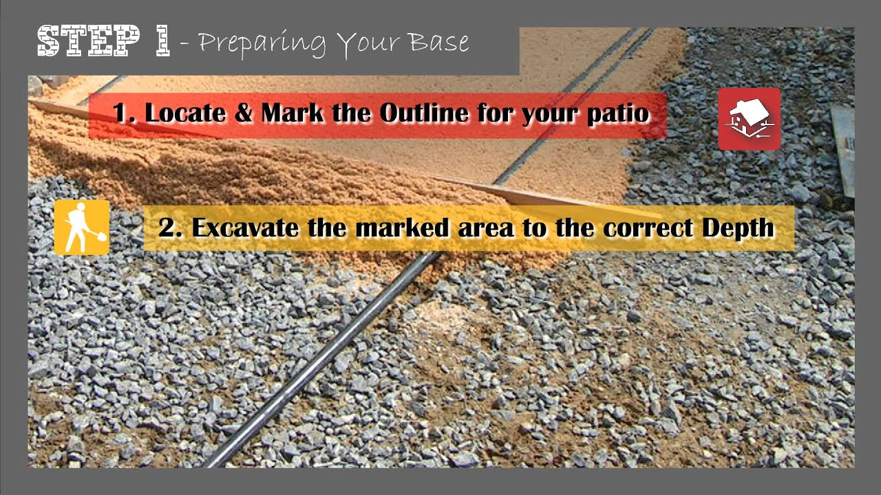 Michigan Brick Pavers How To Guide Step 1 Preparing Your