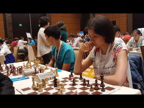 Eurasian Blitz Chess Cup, Almaty, Kazakhstan. XVI -  round. 19. 06. 2016