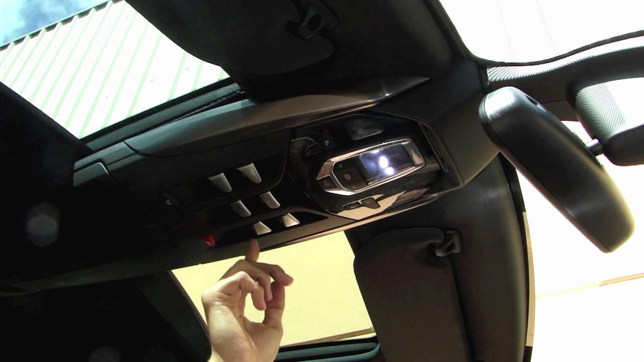 Citroen Ds5 Techo Solar Cockpit Funcionamiento