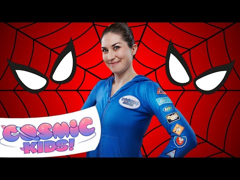 Spider Power Yoga Compilation | Cosmic Kids Yoga
