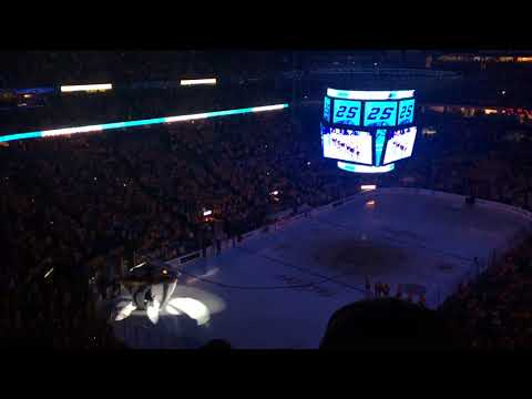 Introduction of the 2017-2018 Nashville Predators