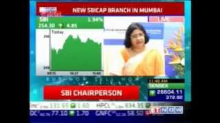 SBI Chairman shares her views on the world & Indian economy