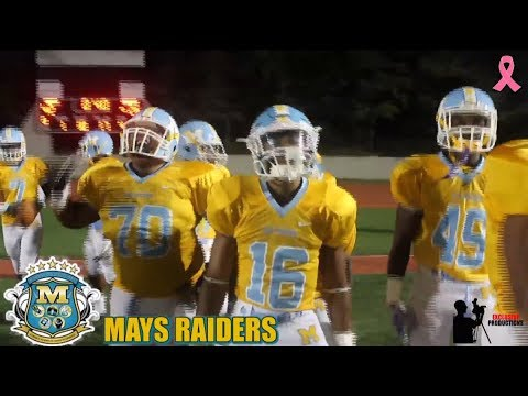 Mays Raiders Breaks Douglas County Tigers Undefeated Record Winning 35 - 3 (Full Game Highlights)