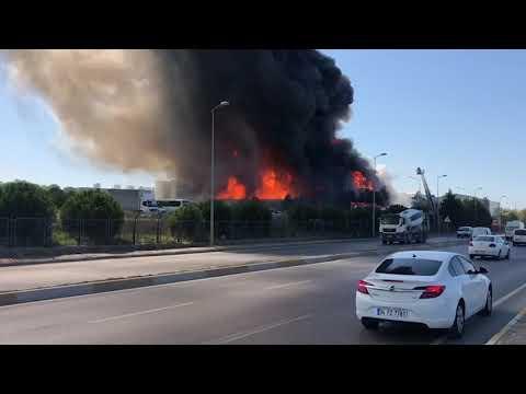 İstanbul Tuzla'da yangın…