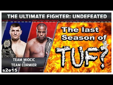 🔴THE FINAL SEASON OF TUF Miocic vs Cormier? + UFC ATLANTIC CITY + MMA NEWS