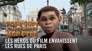Les héros de #PourquoiJaiPas envahissent les rues de Paris !