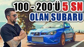 Antalya'nın En Hızlı Subaru'larından 700 Beygir WRX STi