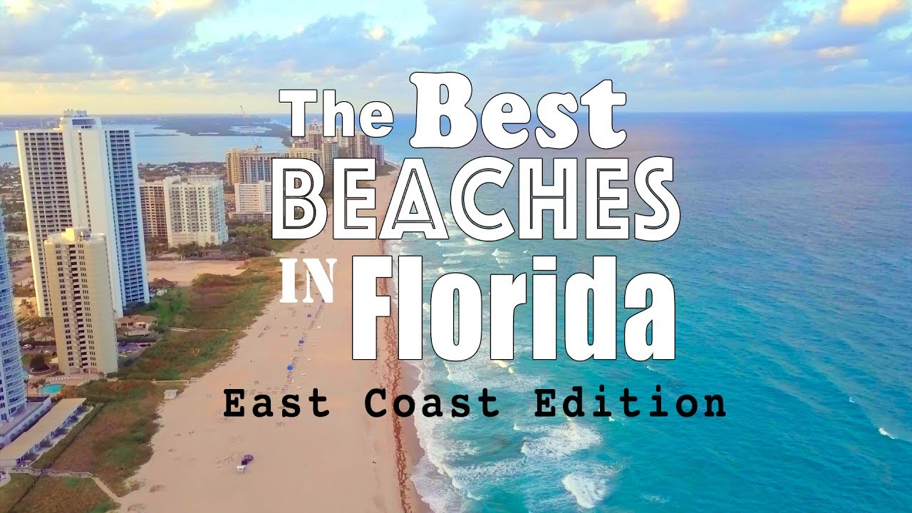 best beaches in florida east coast edition youtube. Black Bedroom Furniture Sets. Home Design Ideas
