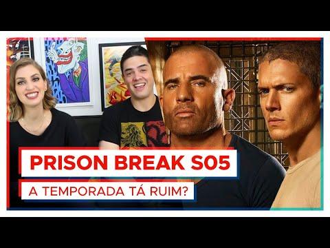 PRISON BREAK  A 5ª temporada tá RUIM? feat Série Maníacos