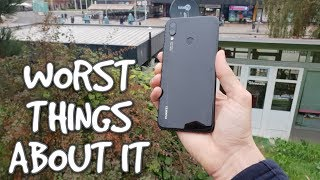 Worst things about Huawei Nova 3i Cons/Issues/Problems/Reasons not to buy