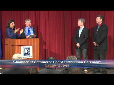 Cupertino Chamber of Commerce Board Installation Ceremony