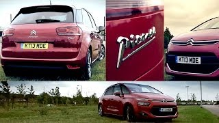 2014 Citroen C4 Picasso Review and Test Drive