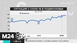 В Москве за сутки выявили 2 308 новых случаев COVID-19 - Москва 24