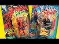 Marvel X-Men X-Force Cartoon Toys | Deadpool & Cable 3rd Edition Toy Biz