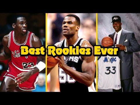 Ranking The 10 GREATEST Rookie Seasons In NBA History!