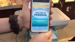 How to print from android phone via usb (cara print menggunakan hp android via usb otg)